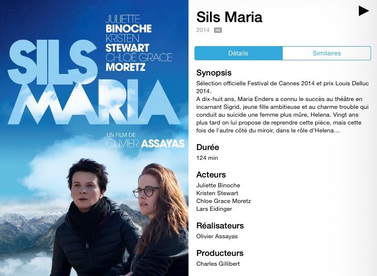 Blog 50 ans / Sils Maria
